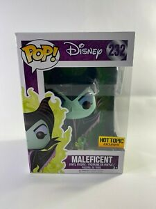 Funko-Pop-232-Maleficent-Disney-039-s-Sleeping-Beauty-Hot-Topic-Exclusive-New