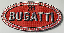 Bugatti  logo embroidered cloth patch.     G031202