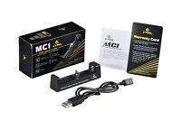 Xtar Mc1 Single Battery Charger For 18650 26650 Li-ion Batteries