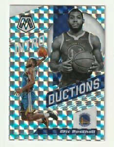 2019-20-Panini-Mosaic-Prizm-Silver-Rookie-RC-Eric-Paschall-Introductions-Insert
