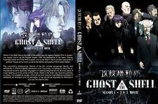 Ghost in the Shell (Season 1 + Season 2 + 3 Movie) ~ 5-DVD ~ English Version ~