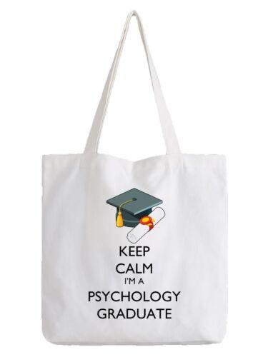 Psychology Graduate Tote Bag Shopper Graduation Psychologist Science Gift Idea