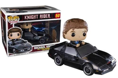 Funko Rides Vinyl Figure n° 50 Knight Rider Michael with KITT Pop