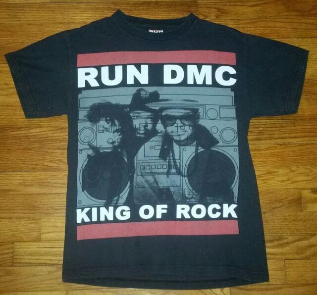 Run DMC King of Rock Men's Black T-shirt Size S