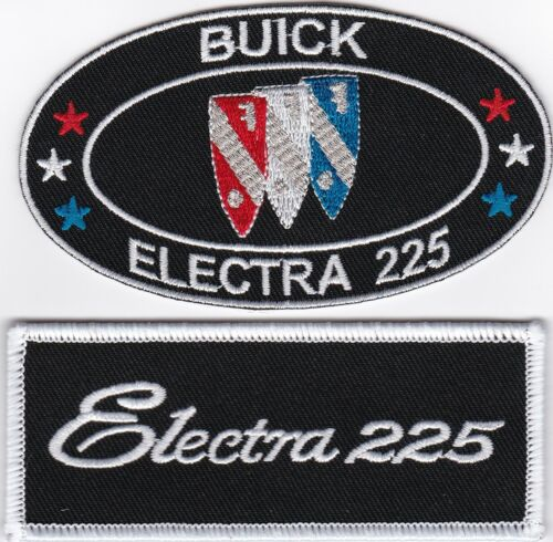 BUICK ELECTRA 225 SEW//IRON ON PATCH EMBLEM EMBROIDERED DEUCE AND A QUARTER 455