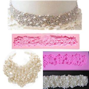 Pearls-Beads-Silicone-Mould-Fondant-Cake-Tools-Cupcake-Mold-Border-Sugar-Paste