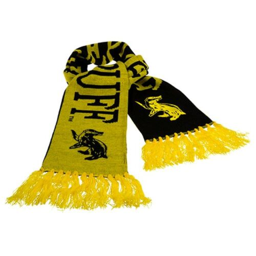 Wizarding World Of Harry Potter Hufflepuff Double Sided House Scarf Universal