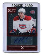 2013-14 Panini Youth Explosion #YE-RD Raphael Diaz Canadiens Autographed jh5