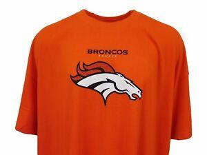 NFL Men s Denver Broncos Majestic Critical Victory Brite Orange T ... 45c171bfe40a5
