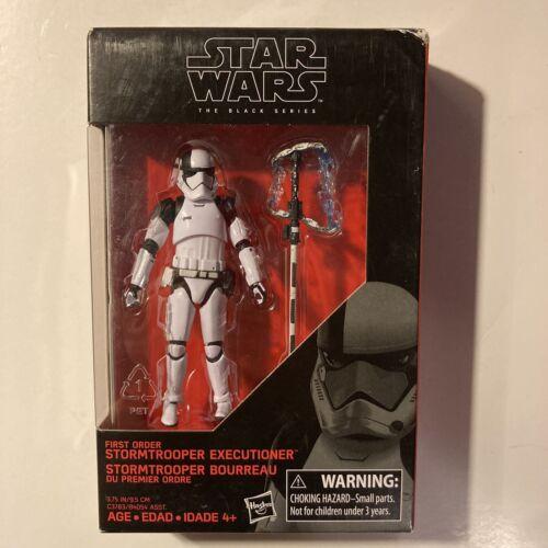 Hasbro First Order Storm Trooper Executioner Star Wars Black Series Figurine