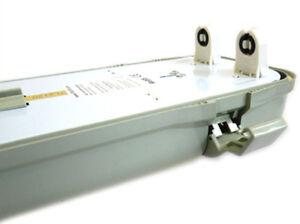 Plafoniera Stagna 120cm : Plafoniera stagna doppio tubo led t cm neon a