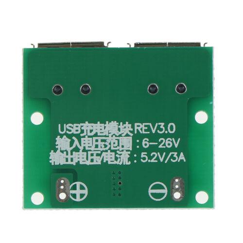 9V 12V 24V to 5V DC-DC Step Down Charger Power Module,Dual USB Output Board HF
