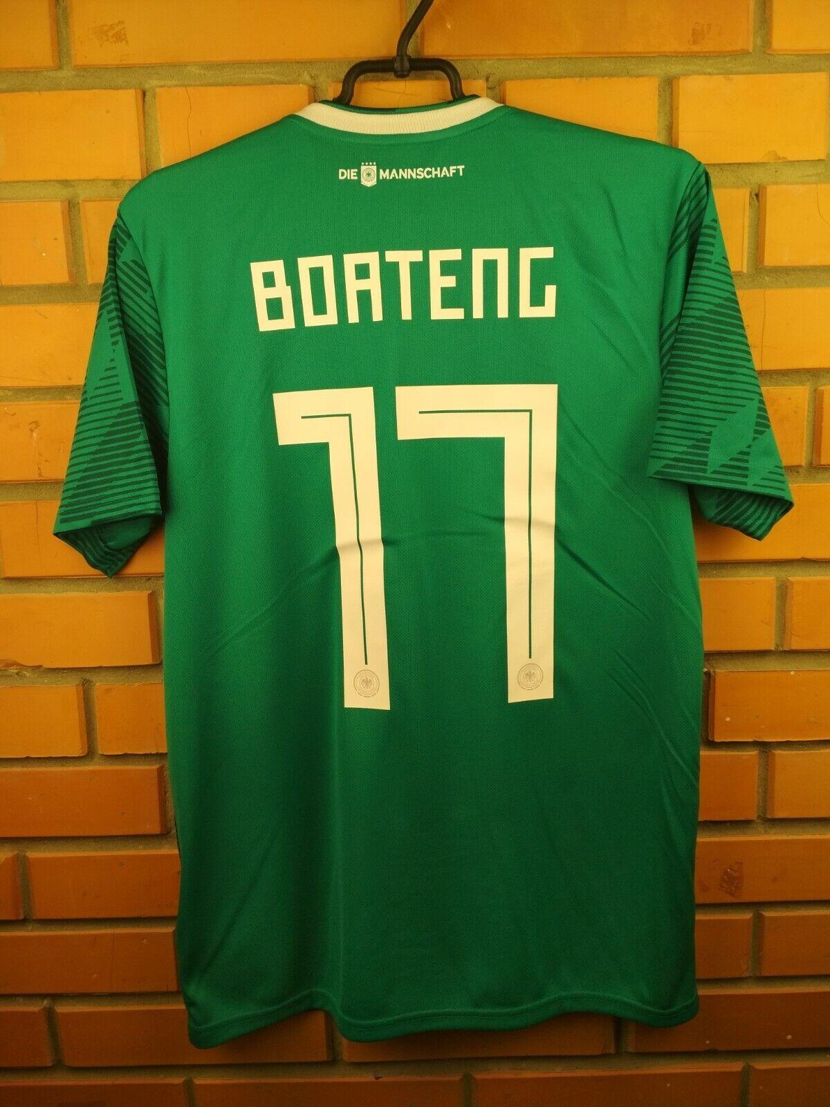 Camiseta Talle Medio 2019 Boateng Alemania Lejos Camiseta Fútbol Fútbol Adidas BR3144