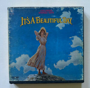 It-039-s-A-Beautiful-Day-Self-Titled-Reel-To-Reel-Tape-Original-3-3-4-1969