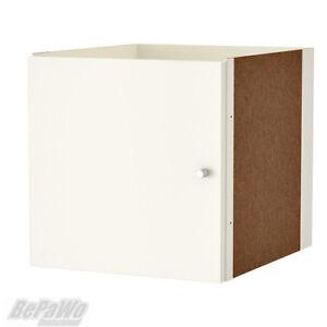 IKEA KALLAX Einsatz mit Tür weiß 33x33 für Expedit Kallax Regal NEU
