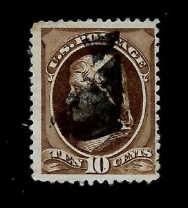 US-1881-Sc-209-10-c-JEFFERSON-USED-Centered-Crisp-Copy