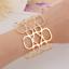 Creative-Simple-Women-Gold-Hollow-Geometric-Punk-Open-Cuff-Bangle-Wide-Bracelet thumbnail 3
