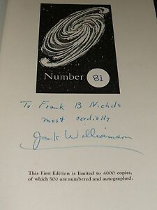 1950-Signed-Limited-First-edition-of-The-Cometeers-by-Williamson-Fantasy-Press