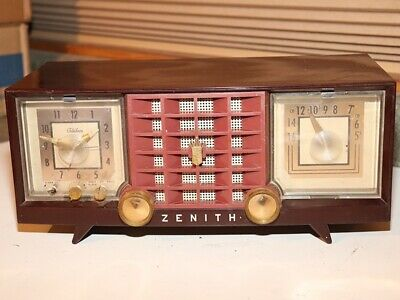 Vintage Retro ZENITH H480W Digital AM/FM Alarm Clock Radio ... |Zenith Clock Radio