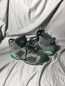new product a97dd 98b6c Image is loading Nike-Air-Jordan-6-VI-Retro-Cement-Grey-