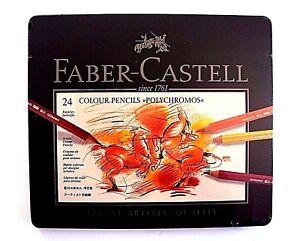 Faber-Castell-24-Polychromos-Buntstifte-im-Metalletui