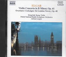 CD album: Elgar: Violin Concerto in B Minor, OP.61. Adrian Leaper. Naxos. T