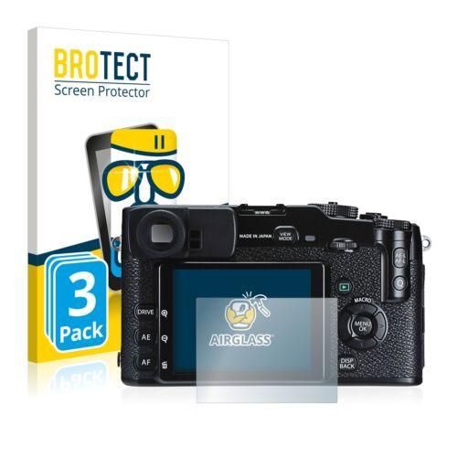 3x protector de pantalla para protección de película de vidrio templado FujiFilm X-Pro1