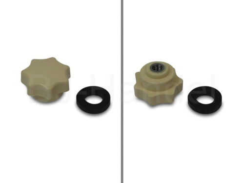hohe Typ Sterngriffmutter mit Druckscheibe beige Simson KR51//1  KR51//2 SR4-2