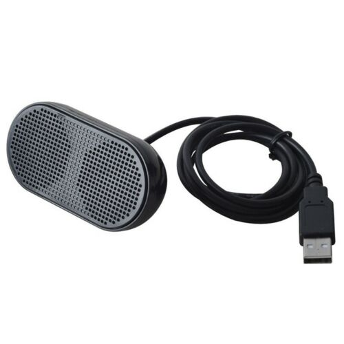 USB Speaker Portable Loudspeaker Powered Stereo Multimedia Speaker for Note
