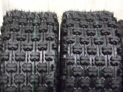 2 22X10-10 4 ply ATV Tires New Kawasaki Bayou 250 QUADKING Rear Tire set