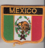 Mexico Flag Iron-on Flag Patch