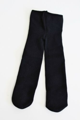 American Girl Doll Black White Button Boots Tights Samantha Authentic
