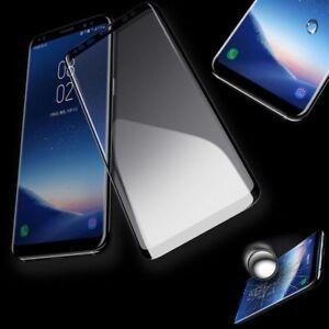 4D-0-3-mm-H9-gebogenes-Hart-Glas-Schwarz-Folie-fuer-Samsung-Galaxy-S9-Plus-G965F