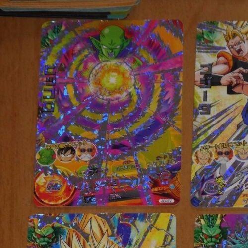 DRAGON BALL Z DBZ DBS HEROES CARD PRISM HOLO CARTE JB-07 JAPAN 2013 NM