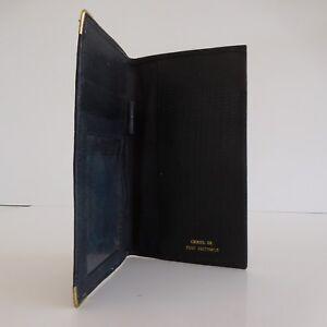 Portefeuille-cuir-homme-femme-vintage-art-deco-1950-1970