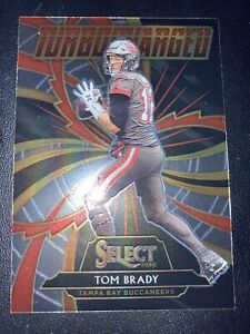 Tom Brady 2020 Select Insert TURBOCHARGED #T12 TAMPA BAY 1st Year GOAT MVP Mint