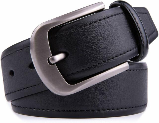 40MM /& 35MM Width Strap Handmade Mens Genuine Leather Belts Design for Dress /& Casual