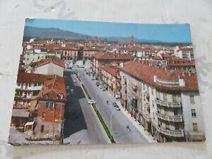 CP Tarjeta Postal Época Alba Corso Italia Shipped 1970