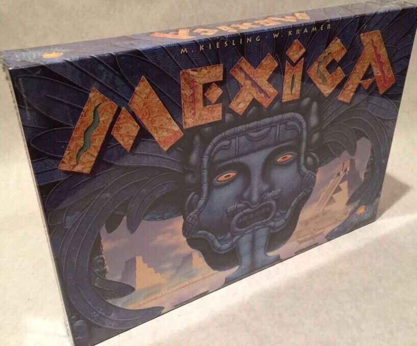 Mexica Reio Grande Games Out Of Print  Oop  Rare  Brand New  Sealed