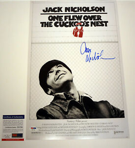 Jack-Nicholson-Signed-One-Flew-Over-The-Cuckoos-Nest-Movie-Poster-PSA-DNA-COA