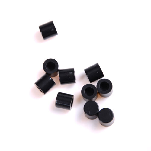 50Pcs Push-botton Cap for 6x6mm Momentary Tactile Switches Key Caps Black**CTS