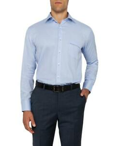 Van-Heusen-Men-039-s-Classic-Relaxed-Fit-Shirt-Cotton-Polyester-A103