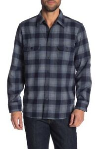 Wallin-amp-Bros-Plaid-Print-Wool-Blend-Shirt-Jacket-Blue-Chinoise-Subtle-Plaid