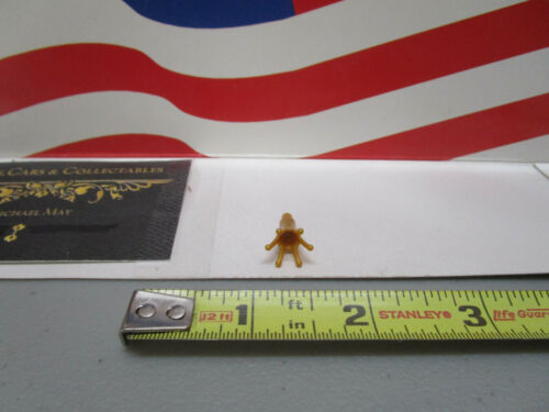 Lego MINIFIGURE PEARL GOLD CROWN WITH BAR PART #25516 1