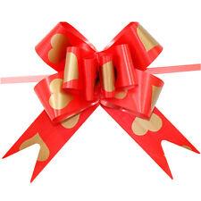 10Pcs Ribbon Pull Bows Flower Wedding Party Door Decoration Gift Wrap DIY JG