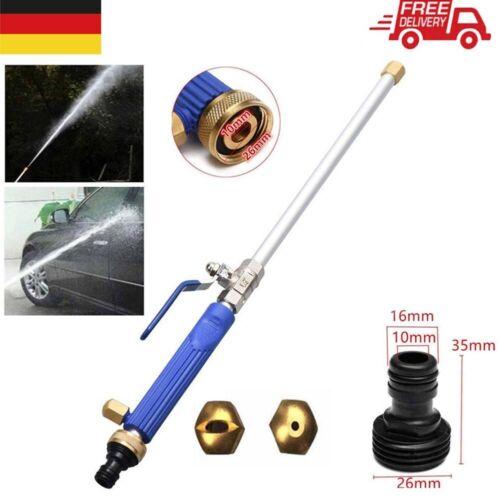 Auto Hochdruck Wasserpistole Düse Sprühlanze für KFZ Gartenschlauch Wasserlanze