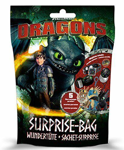 Craze Dragons Surprise Sac Aveugle Pack Dragons Jumbo-New Boxed