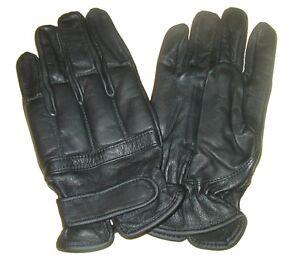 Aufrichtig Ab Handschuhe Defender Sand Schwarz Security Lederhandschuhe S-xxl üBerlegene Materialien