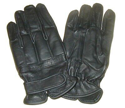 Hell Ab Handschuhe Defender Sand Schwarz Security Lederhandschuhe S-xxl