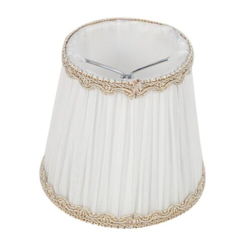 Chandelier Shades,ONLY for Candle Bulbs,Clip-On Fitter Lamp Shades,Set of 6 X7G6